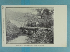 Platine Et Or De Novita-Viejo Pont Sur La Novita Reliant L'usine Au Chemin - Colombia