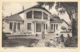 St Saint-Marcellin - Le Gymnase Vu Des Jardins - Carte CAP N° 57 Non Circulée - Saint-Marcellin