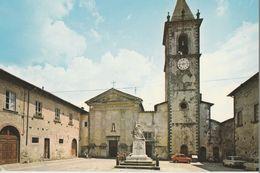 14192) MASSA CARRARA FILETTO PIAZZA DELLA CHIESA NON VIAGGIATA - Massa