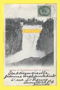 CHUTES MONTMORENCY 1900 Près QUEBEC Timbre Canada Reine Victoria 1c Bleu-gris - Montmorency Falls
