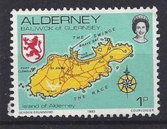 Alderney 1983 Views 1p (o) Mi.1 - Alderney