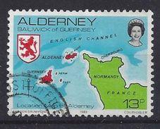 Alderney 1983 Views 13p (o) Mi.7 - Alderney