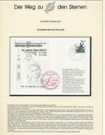 3804X Espace (space) Entier Postal (Stamped Stationery) Allemagne (germany Bund) 30/10/1992 Von Braun - FDC & Commemoratives