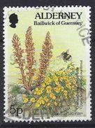 Alderney 1994-98  Flora And Fauna 5p (o) Mi.69 - Alderney