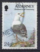 Alderney 1994-98  Flora And Fauna 24p (o) Mi.77 - Alderney