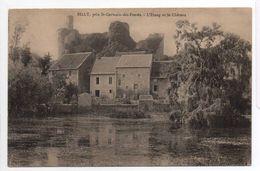- FRANCE (03) - CPA Ayant Voyagé BILLY, Près St-Germain-des Fossés (Allier) 1915 - L'Etang Et Le Château - - France