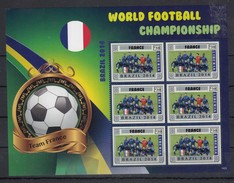 G229 2014 LIBERIA WORLD FOOTBALL CHAMPIONSHIP 2014 FRANCE KB MNH - World Cup