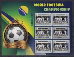 G230 2014 LIBERIA WORLD FOOTBALL CHAMPIONSHIP 2014 BRAZIL 2KB MNH - World Cup