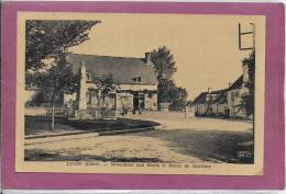 36.- LINGE .- Monument Aux Morts Et Route De Martizait - France