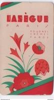 Carte Parfumée ( Ne Sent Plus)/ LASEGUE/Paris/Poudres Crêmes Fards/ Vers 1920-1930       PARF99bis - Profumeria Antica (fino Al 1960)