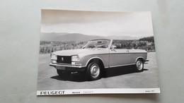 Peugeot 305 Cabrio 1975, Simca Rallye 1, Matra Bagheera 1977- Foto Originali Da Cartelle Stampa - Genuine Press Photos - Automobili