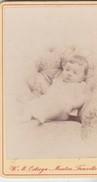 Photos Originales  Anciennes CDV   Photo Fille Marguerite De Boury  Photo Walerian Ostroga Menton 1870  Ref 71 - Photos