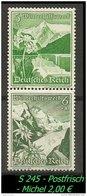 Deutsches Reich - Zusammendruck - Mi. Nr. S 245 - Postfrisch. - Zusammendrucke