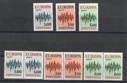 1972 Portogallo Portugal EUROPA CEPT EUROPE 3 Serie Di 3v. MNH** - 1972