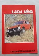 Lada Niva - Lada 1300 3 Depliant Originali - Genuine Factory Brochures - Automobili