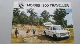 Morris 1300 Traveller 1967 Depliant Originale - Genuine Factory Brochure - Automobili