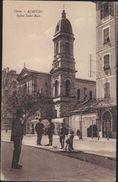 CPA Corse Ajaccio Eglise église Saint St Roch Animée Circulée 1929 - Ajaccio