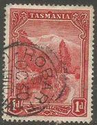 Tasmania - 1899 Mount Wellington 1d Used  SG 230 - Gebruikt