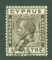 Cyprus: 1925   KGV   SG119   ¾pi      Used - Cyprus (...-1960)