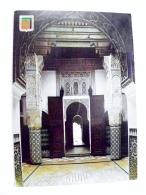 Post Card From Morocco Maroc Carte Postale Atm Machine Cancel 1974 Meknes - Morocco (1956-...)