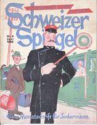 SCHWEIZER SPIGEL  NUM 9 DE JUIN 1928 - 92 PAGES - ASSEZ BON ETAT. - Vieux Papiers