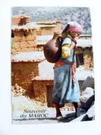Post Card From Morocco Maroc Carte Postale 1996 Girl Maroc Infini - Morocco (1956-...)