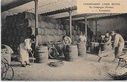 CPA Ay En Champagne Métier LOUIS ROYER Vins De Champagne Vignerons Non Circulé Tonnelier - Ay En Champagne