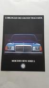 Mercedes Benz Serie S 1990 Depliant Originale - Genuine Factory Brochure - Automobili