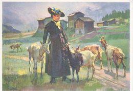 CHEVRES, DU VAL D'ANNIVIER VON E.HODEL -28.12. 1938 - Animaux & Faune