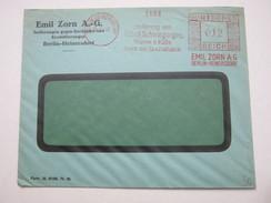 1933  ,  Berlin   , Glasklarer Firmen - Freistempel  Auf   Brief - Briefe U. Dokumente