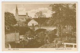 Bavière      Neu-Ulm       Kollmannspark Mit Münster - Neu-Ulm