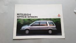 Mitsubishi Space Wagon Depliant Brochure Originale Auto - Genuine Car Brochure - Automobili