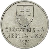 Slovaquie, 20 Halierov, 2002, TTB, Aluminium, KM:18 - Slovakia