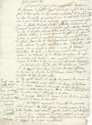 JUSSAT 63 BAIL .PERISSEL,CARRIAS. Fait Le 18 Juin 1821 Sur Papier Philigramme ;TIMBRE ROYAL M ;avec Timbre Royal 25c N11 - Manuscripts
