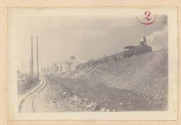 SAINT DENIS : Pont Canal St Denis, Saut De Mouton Du Landy. Quadruplement Des Voies La Plaine Hirson. Photo Originale - Trains