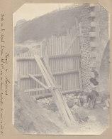 SAINT DENIS Aubervilliers:  Construction Pont Du Canal St Denis. Quadruplement  Voies La Plaine Hirson. Photo Originale - Trains