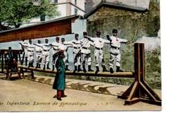 Infanterie Exercice De Gymnastique - Régiments