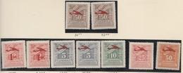 Grece Poste Aérienne N° 31 à 38 ** Série Compléte 9 Valeurs - Luftpost