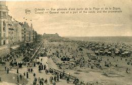 BELGIUM - Ostende - Vue Generale D'une Partie De La Plage Etla Digue - Oostende