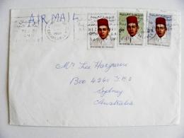 Cover From Morocco Maroc 1969 Atm Machine Cancel - Morocco (1956-...)