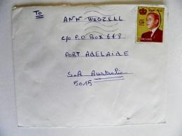 Cover From Morocco Maroc To Australia - Morocco (1956-...)