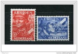 Olanda - 1942 - Nuovo/new MNH - Legione Olandese - Mi N. 402/03 - Nuovi