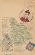 VIENNE - CARTE DEPARTEMENTALE - (NOS DEPARTEMENTS N° 83) - Frankreich