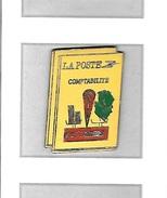 Pin's  Ville, LA  POSTE, Comptabilité  S C P  POITIERS  ( 86 ) - Mail Services