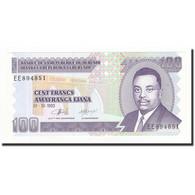 Burundi, 100 Francs, 1993-10-01, KM:37a, NEUF - Burundi