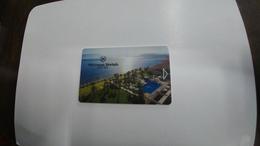 Israel-hotey Key-(425)-sheraton Moriah-dea Sea-hotals-(d)(looking Out Side)-used+1card Prepiad Free - Hotelkarten