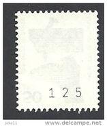 Deutschland, 1971,  Mi.-Nr. 700 R, Mit Nr. 125, **postfrisch - BRD