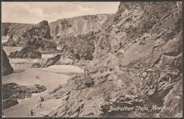 Bedruthen Steps, Near Newquay, Cornwall, 1913 - Hartnoll's Postcard - England