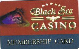 BULGARIA KEY CASINO Black Sea Casino - VARNA - Casino Cards