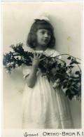 GEVAERT ORTHO-BROM K 1 Bambina Con Rose - Persone Anonimi